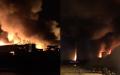 Brand - Fredericia - havn - storbrand