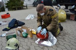 Brandmand - rengøring - udstyr